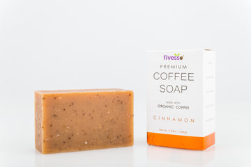 Cinnamon - Premium Coffee Soap Bar