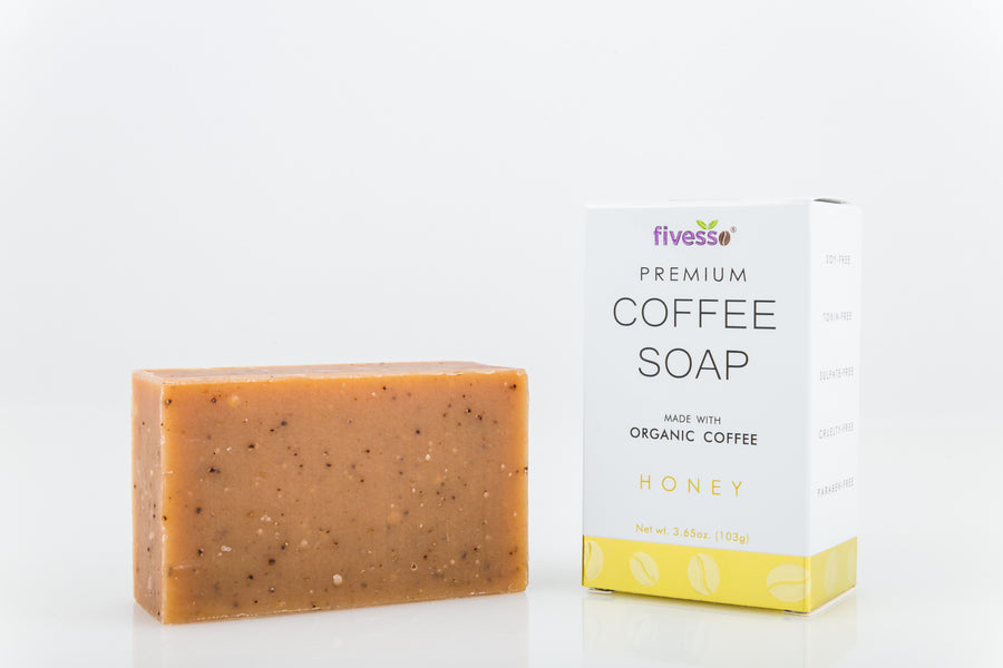 Honey - Premium Coffee Soap Bar