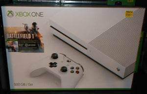 XBOX ONE S (4k) 500g - Battlefield 1 Bundle (XBOX ONE)