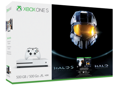 Xbox One S (4k) 500g System - Halo Collection Bundle (Xbox One)