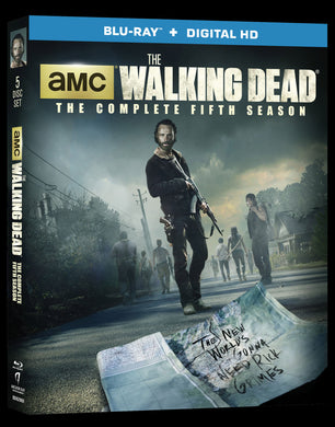 The Walking Dead Fifth Season (bluray+Digital)