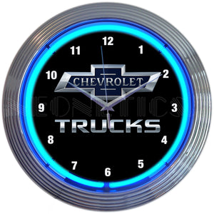 Chevrolet Trucks 100th Anniversary Neon Clock
