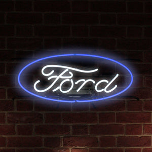 Ford Oval Jr. Neon Sign