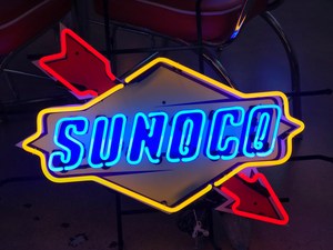 Sunoco Race Fuel Neon Sign