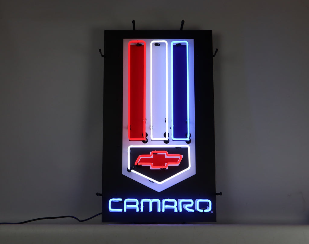 Camaro Neon Sign With Backing