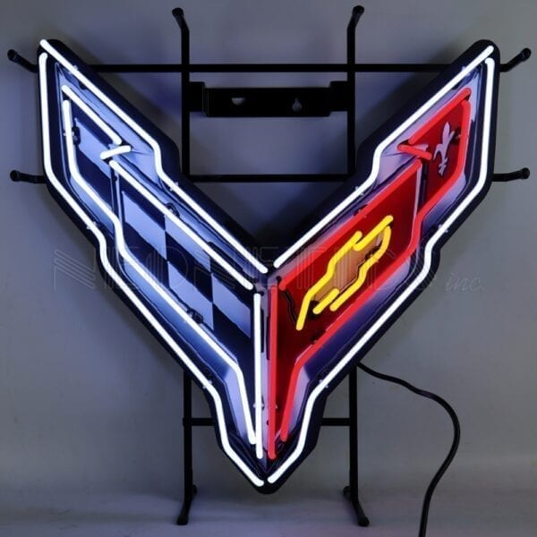 Chevrolet C8 (New Gen) Neon Sign with Backing