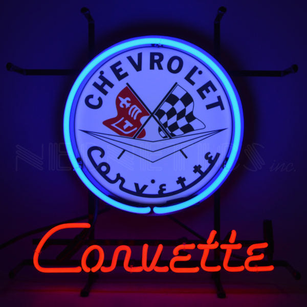 Chevrolet Corvette C1 Jr Neon Sign