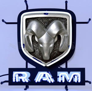 Dodge Ram Jr. Neon Sign