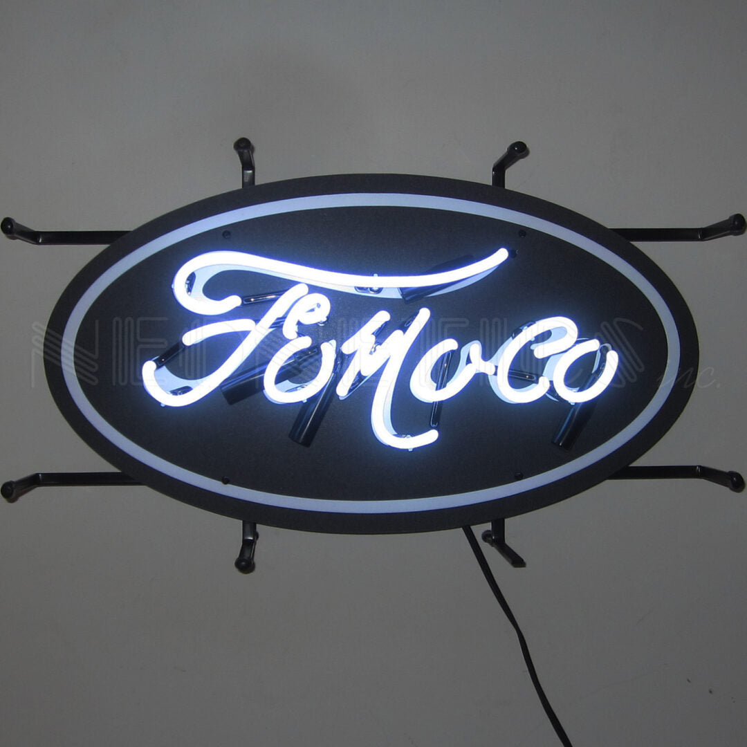 "Ford ""FoMoCo"" Jr. Neon Sign"