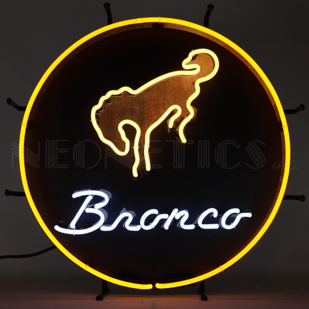 Ford Bronco Neon Sign