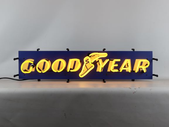 Goodyear Jr.  Neon Sign