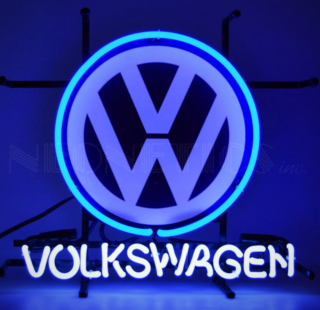 Volkswagen Jr. Neon Sign