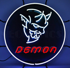 Dodge Demon Neon Sign