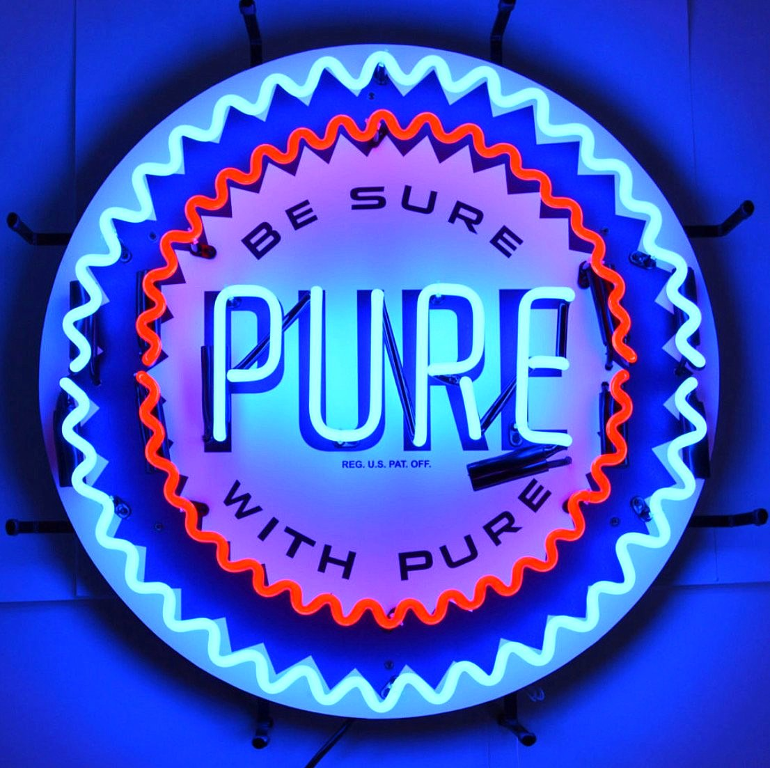 Pure Gasoline Neon Sign