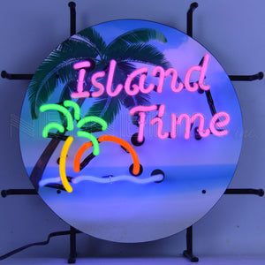 Island Time Jr. Neon Sign