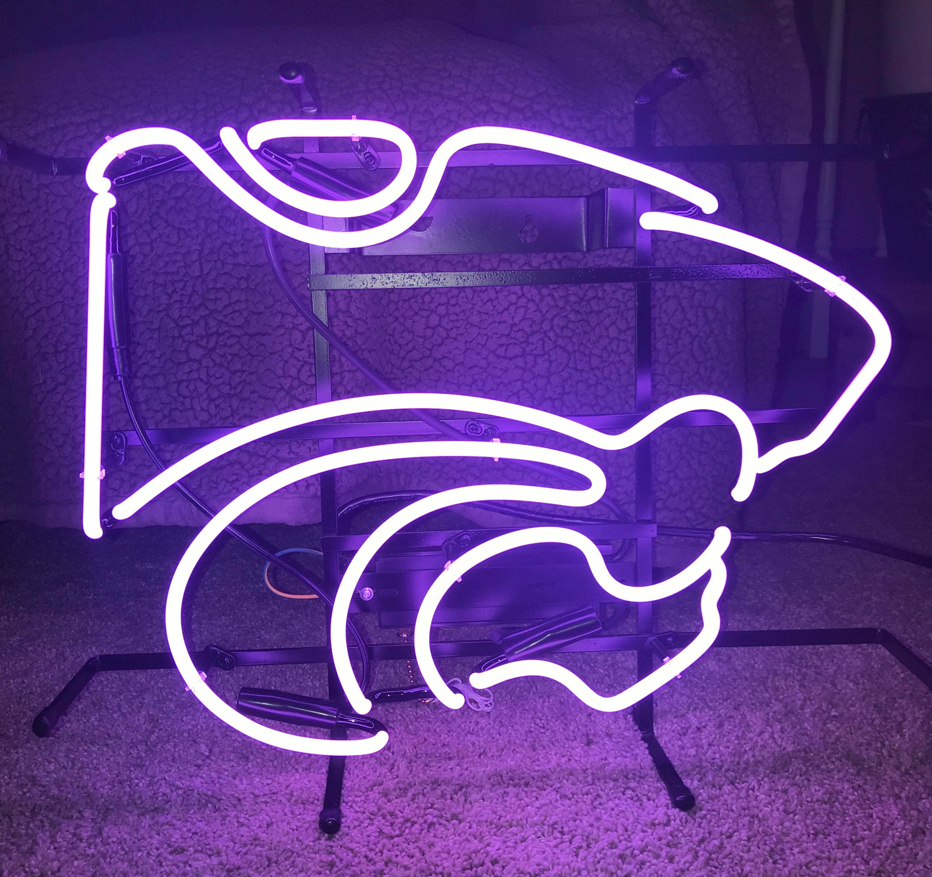 K-State Powercat Neon Sign