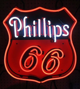 Phillips 66 Neon Sign
