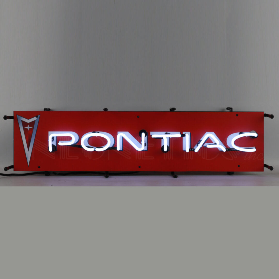 Pontiac Jr. Neon Sign