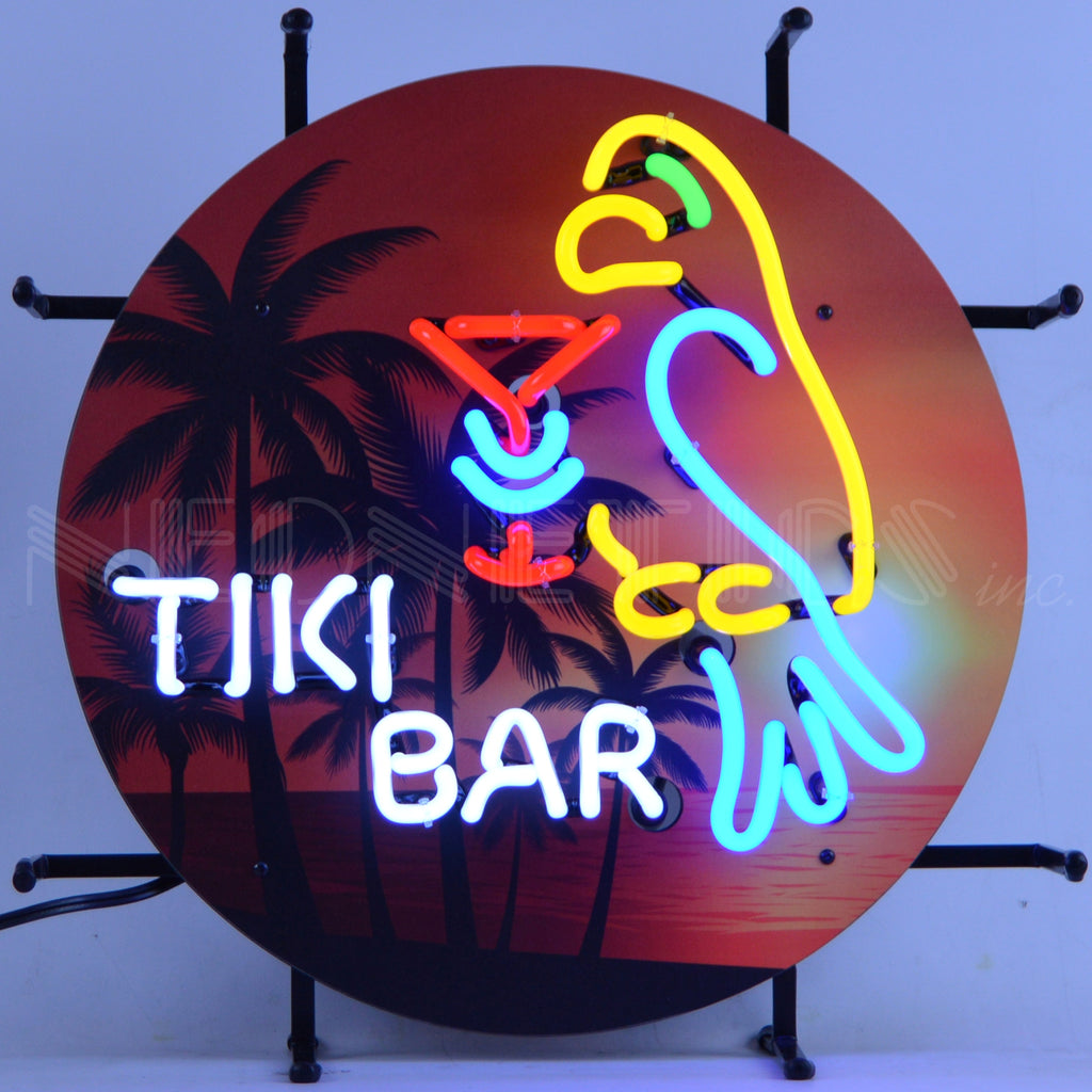 Tiki Bar Junior Neon Sign