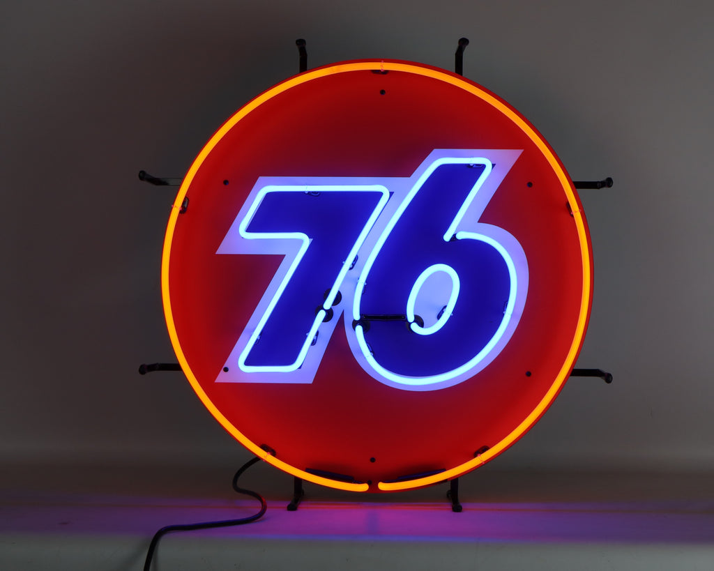Union 76 Gas Neon Sign