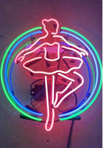 Dancer Neon with Acrylic Panel