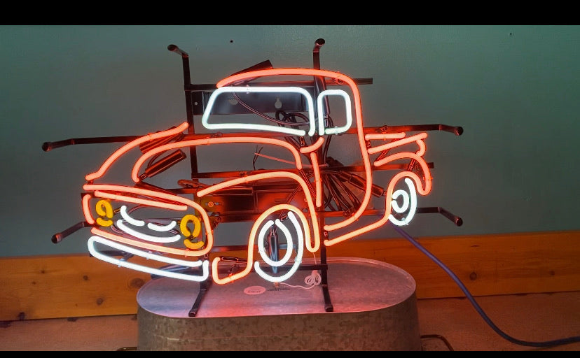 Little Truck Neon Sign