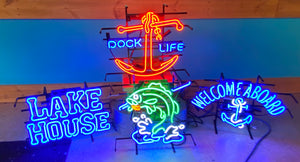 Lake House Neon Sign