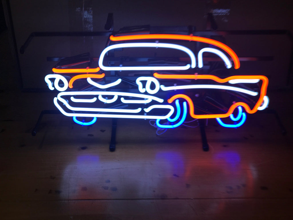 57' Chevy Neon Sign