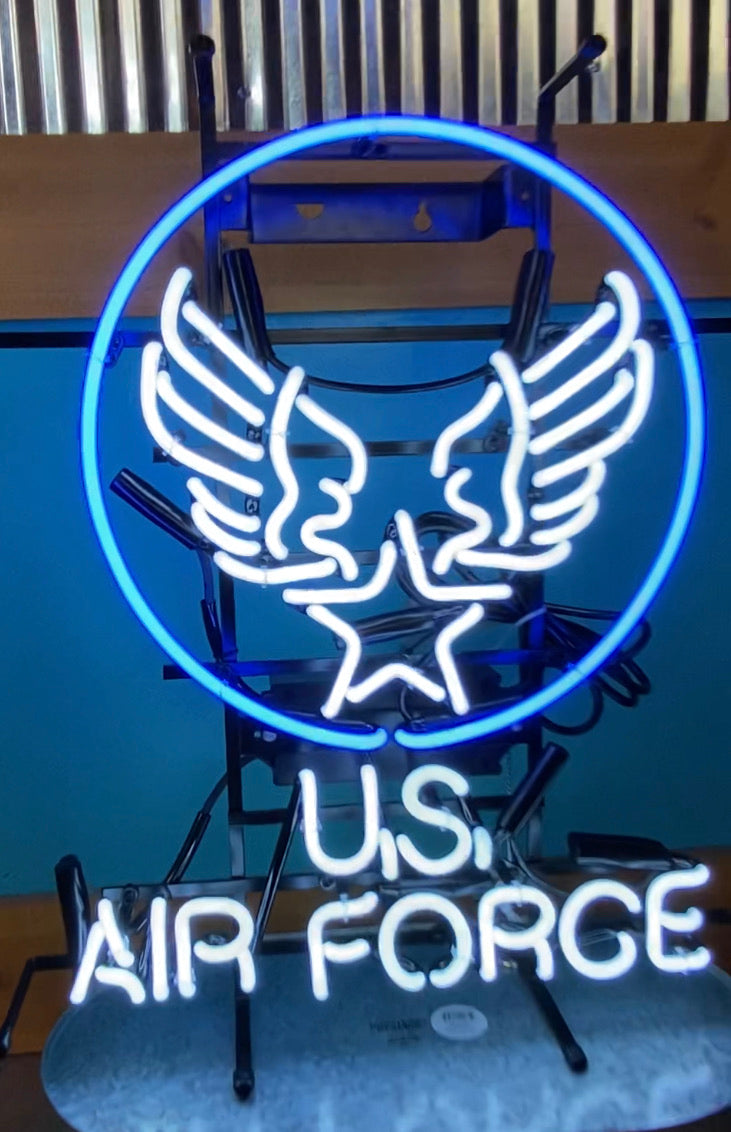 U.S. Air Force Neon Sign