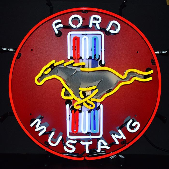 Ford Mustang Neon Sign