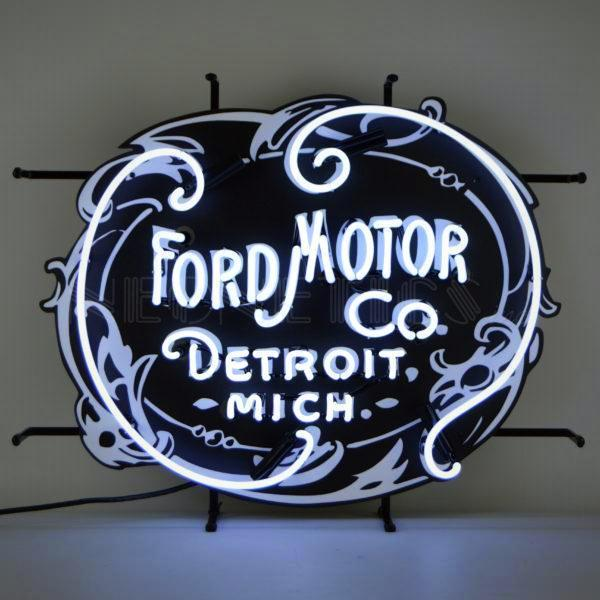 Ford Motor Company 1903 Neon Sign