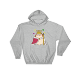 King Hedgehog Hooded Sweatshirt