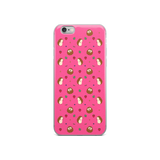 Hedgehog Pattern Pink iPhone 6/6s, 6 Plus/6s Plus Case