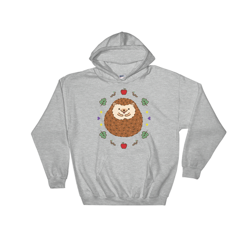 Cute Hedgehog Hooded Sweatshirt
