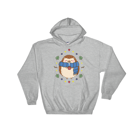 Warm Hedgie Hooded Sweatshirt