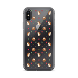Hedgehog Pattern iPhone X Case