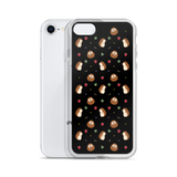 Hedgehog Pattern Black iPhone 7/8, 7 Plus/8 Plus Case