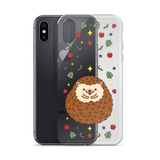 Cute Hedgehog iPhone X Case