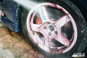 Getting rid of stubborn brake dust from your wheels