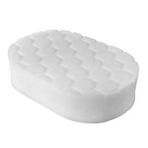 Chemical Guys Hex-Logic Polishing Hand Applicator Pad White Chemguys