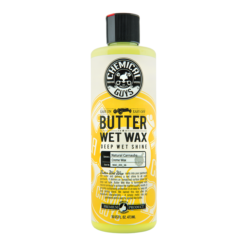 Chemical Guys Butter Wet Wax Chemguys - 473ml/3.8L