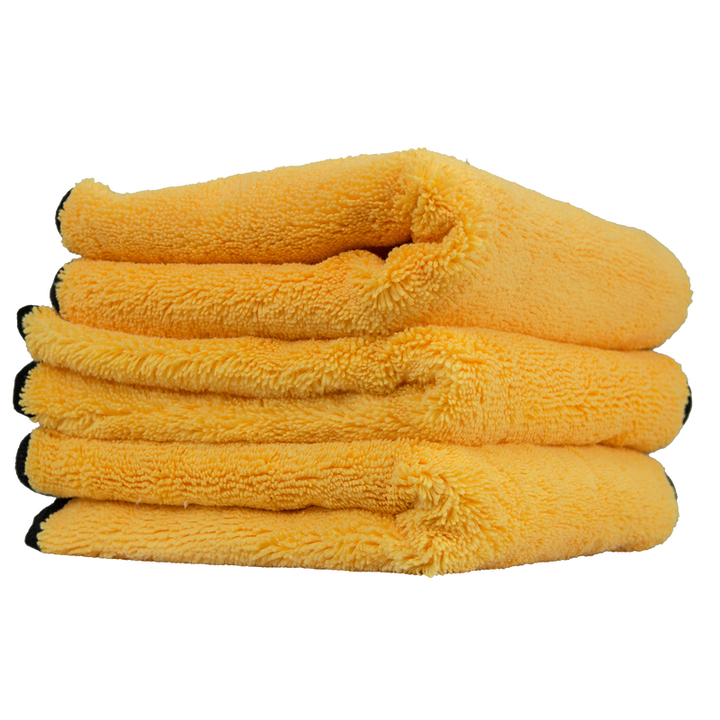 "Chemical Guys Professional Grade Premium Microfibre Towel with Silk Edges Chemguys - 16"" x 16"" (3 Pack)"