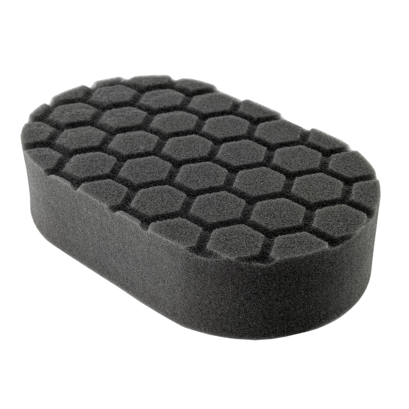 Chemical Guys Hex-Logic Finishing Hand Applicator Pad Black Chemguys