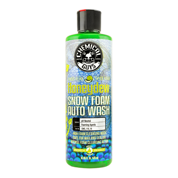 Chemical Guys Honeydew Snow Foam Auto Wash Cleanser Chemguys - 473ml/3.8L