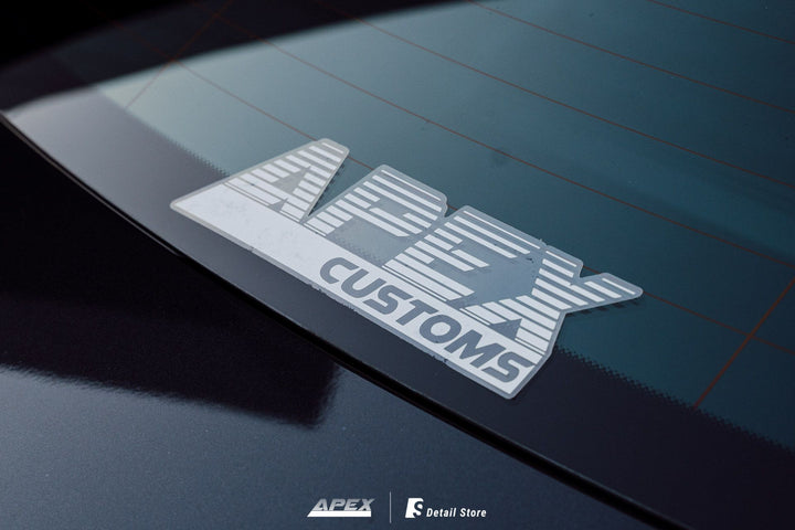 Apex Customs Decal