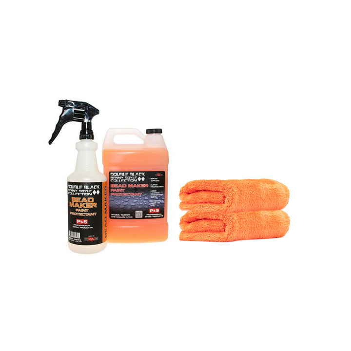 P&S Bead Maker 3.8L + Spray Bottle with Trigger + 2 x Eagle Edgeless 500 Orange Kit