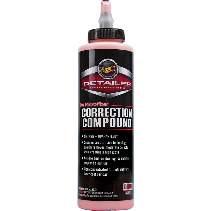 Meguiars Professional DA Microfibre Correction Compound - 473ml/3.78L