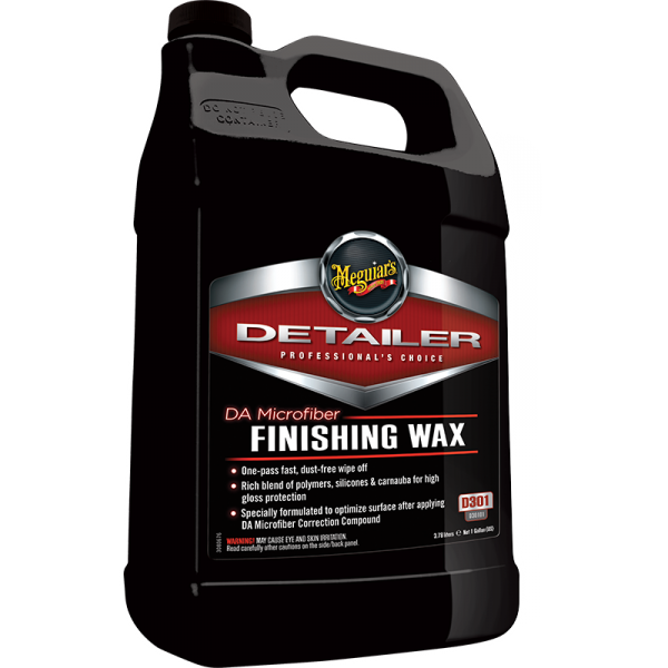 Meguiars Professional DA Microfibre Finishing Wax - 473ml/3.78L