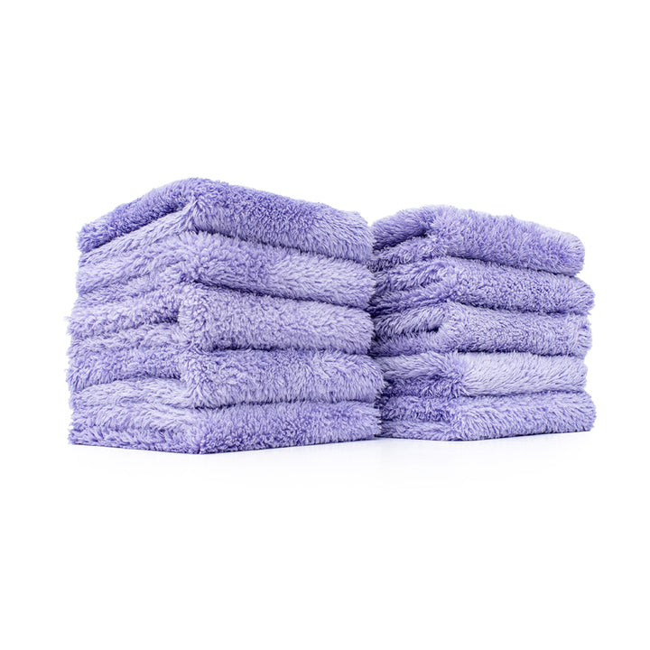 The Rag Company The Eaglet 350 Ultra Plush Microfibre Towel (10 Pack) - Lavender