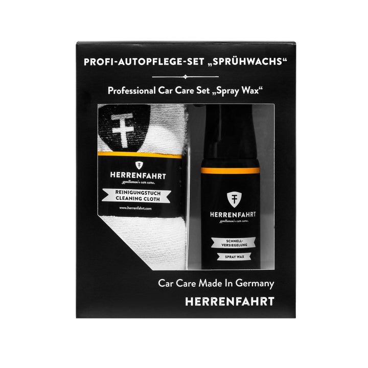 Herrenfahrt Professional Car Care Set Spray Wax Bundle Kit - HFKIT002